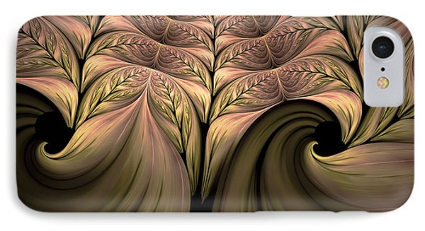 The Secret World Of Plants Abstract IPhone Case