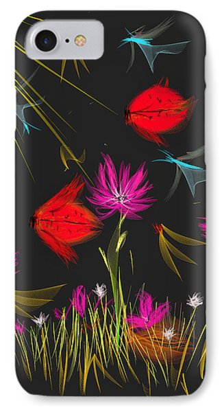 The Secrets Of The Night Phone Case by Angela A Stanton