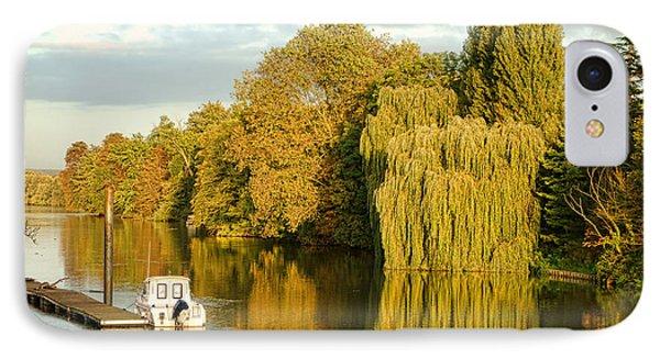 The Seine At Bonnieres IPhone Case