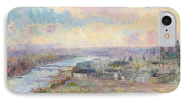 The Seine At Rouen Phone Case by Albert Charles Lebourg