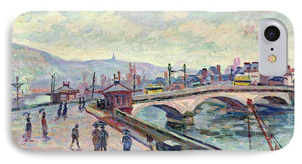 The Seine At Rouen Phone Case by Jean Baptiste Armand Guillaumin