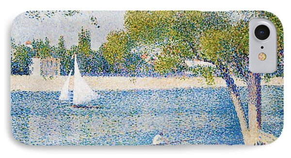 The Seine At The Grand Jatte IPhone Case