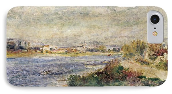 The Seine In Argenteuil IPhone Case by Pierre-Auguste Renoir