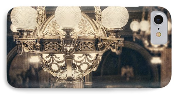 The Senate Chandeliers  Phone Case by Lisa Russo