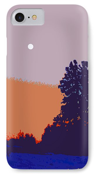 The Sentinal In Orange And Blue IPhone Case