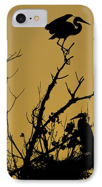 The Sentry IPhone Case by Kelly Gibson