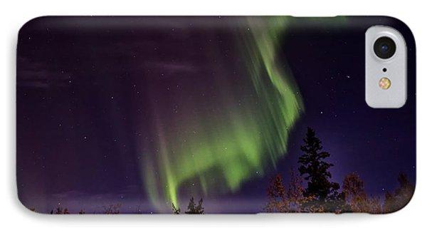The September Aurora Fairbanks Alaska IPhone Case