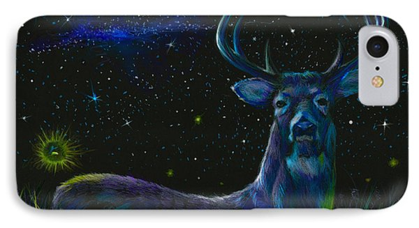 The Serenity Of The Night  IPhone Case