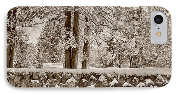 The Serenity Of Winter IPhone Case by Tricia Marchlik