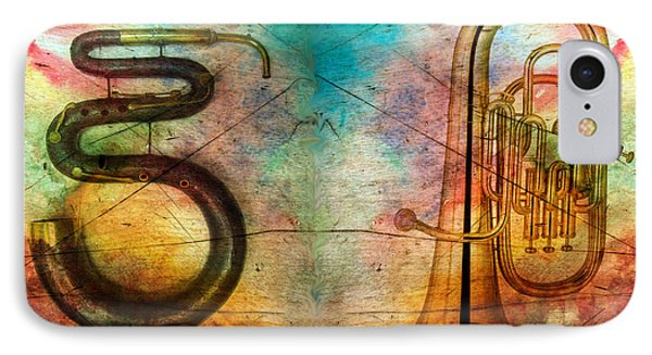 The Serpent And Euphonium -  Featured In Spectacular Artworks Phone Case by EricaMaxine  Price