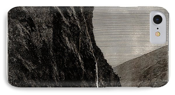 The Seven Sisters, Geiranger Fjord, Norway IPhone Case