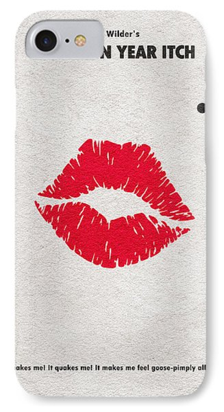 The Seven Year Itch IPhone Case by Ayse Deniz