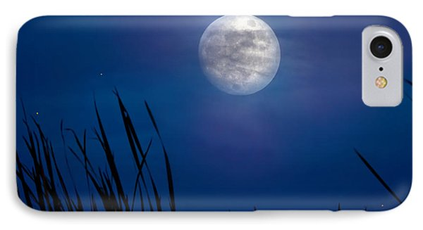 The Seventh Moon IPhone Case by Mark Andrew Thomas
