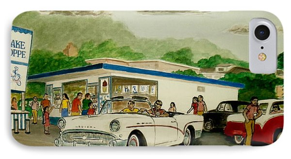 The Shake Shoppe Portsmouth Ohio 1960 IPhone Case