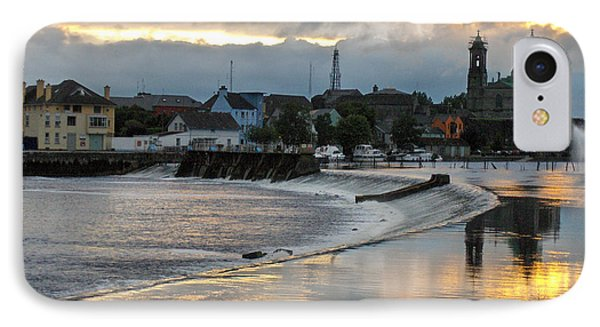 The Shannon River IPhone Case by Brenda Brown