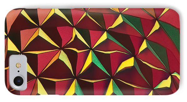 IPhone Case featuring the photograph Shapes Of Color by Kellice Swaggerty
