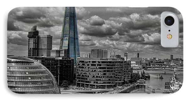 IPhone Case featuring the photograph The Shard by Trena Mara