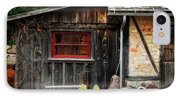 The Shed At Monches Farm Phone Case by Mary Machare