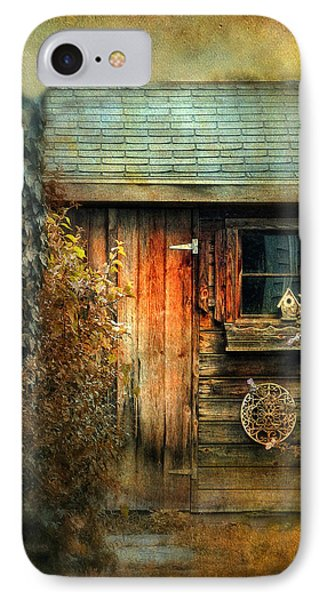 The Shed IPhone Case by Jessica Jenney