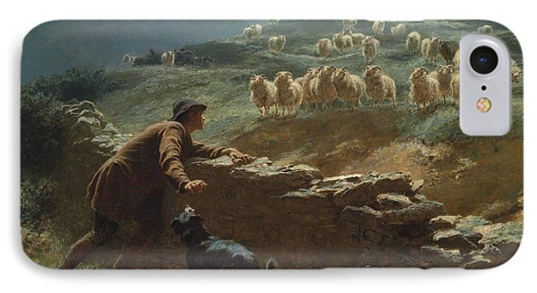 The Sheepstealer IPhone Case by Briton Riviere