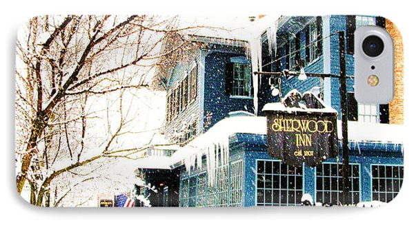 The Sherwood Inn IPhone Case by Margie Amberge