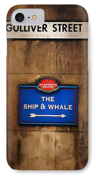 The Ship And Whale IPhone Case