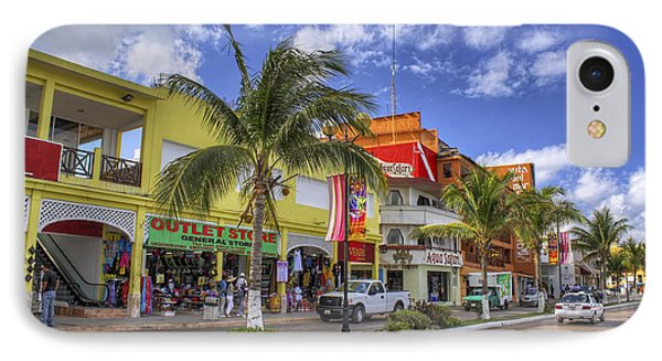 The Shops Of Cozumel IPhone Case by Jason Politte