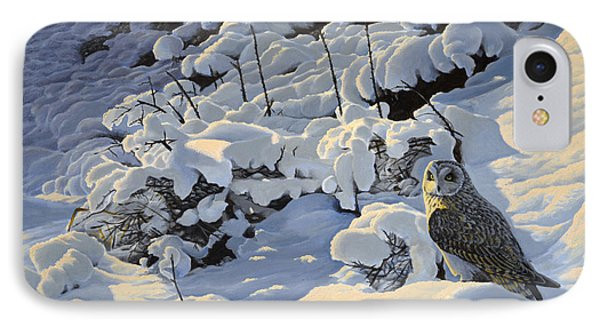 The Short Eared Owls Flew In IPhone Case