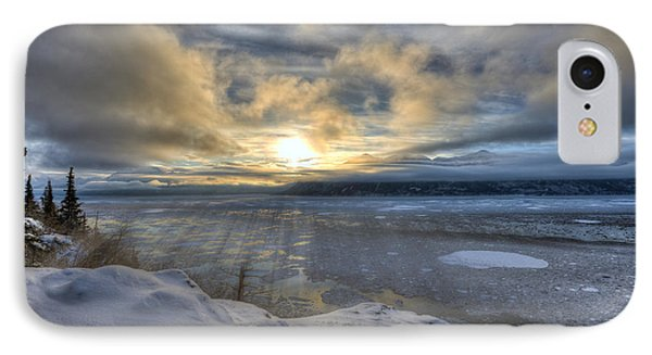 The Shortest Day IPhone Case by Ted Raynor
