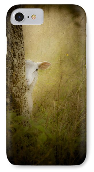 The Shy Lamb Phone Case by Loriental Photography