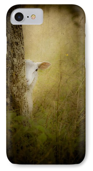 The Shy Lamb IPhone Case by Loriental Photography