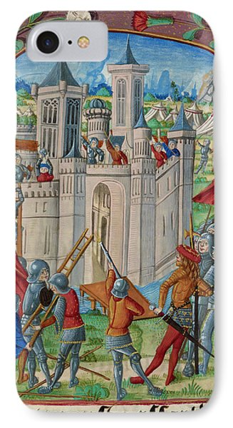 The Siege Of Acre IPhone Case by British Library
