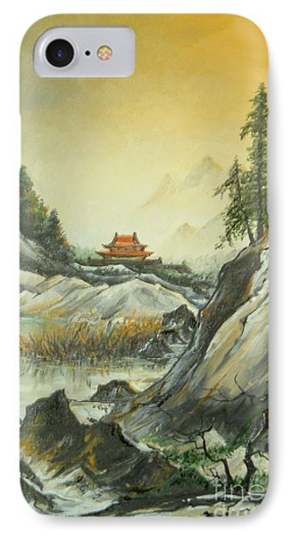 The Silence In The Mountains IPhone Case by Sorin Apostolescu