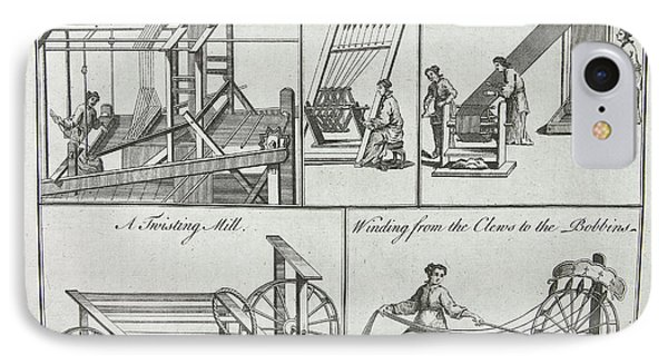 The Silk Manufacture IPhone Case by British Library