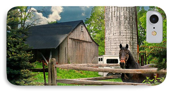 The Silo Horse IPhone Case