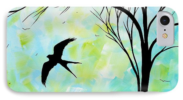 The Simple Life By Madart Phone Case by Megan Duncanson