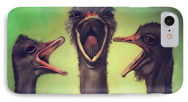 The Singers IPhone Case by Leah Saulnier The Painting Maniac