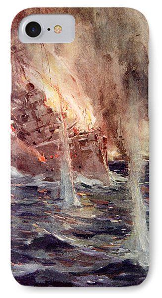 The Sinking Of The Gneisenau IPhone Case