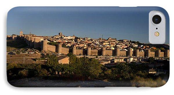 The Skyline Of Avila Spain IPhone Case by Farol Tomson
