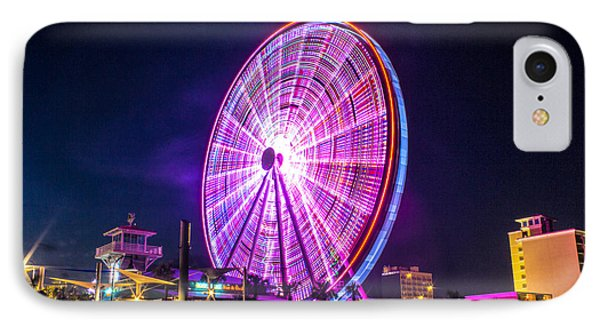 IPhone Case featuring the photograph The Skywheel by Rob Sellers