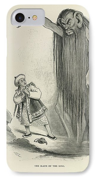 The Slave Of The Ring IPhone Case by British Library
