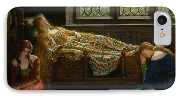 The Sleeping Beauty Phone Case by John Collier