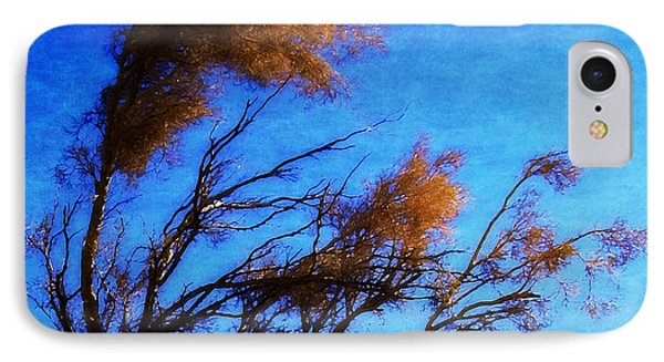 IPhone Case featuring the photograph The Smoke Tree by Timothy Bulone