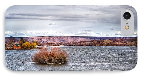 IPhone Case featuring the photograph The Snake River Near Hagerman Idaho by Michael Rogers