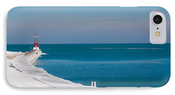 IPhone Case featuring the photograph The Snow Swept Michigan by Dawn Romine
