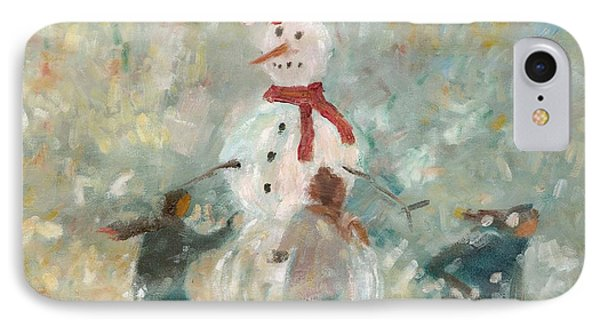 The Snowman IPhone Case