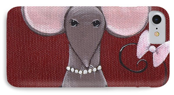 The Socialite  Phone Case by Christy Beckwith