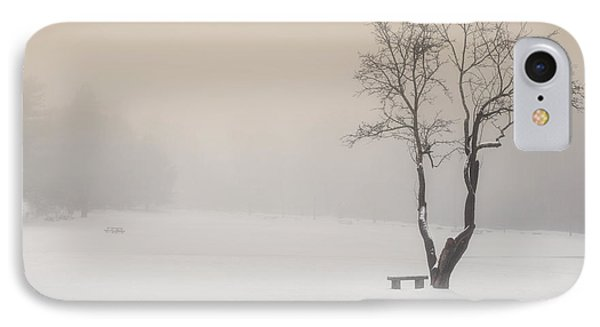 The Solitude Of Winter IPhone Case by Bill Wakeley