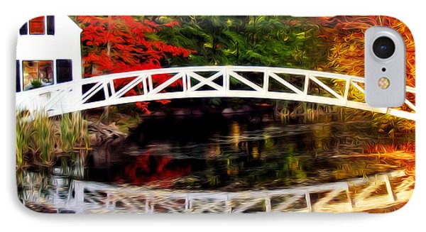 IPhone Case featuring the photograph The Somesville Bridge by Bill Howard