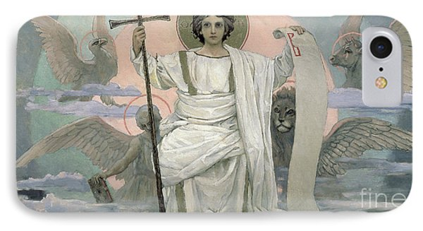 The Son Of God   The Word Of God IPhone Case by Victor Mikhailovich Vasnetsov